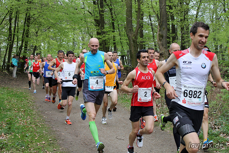 Hermannslauf - Start A 2012