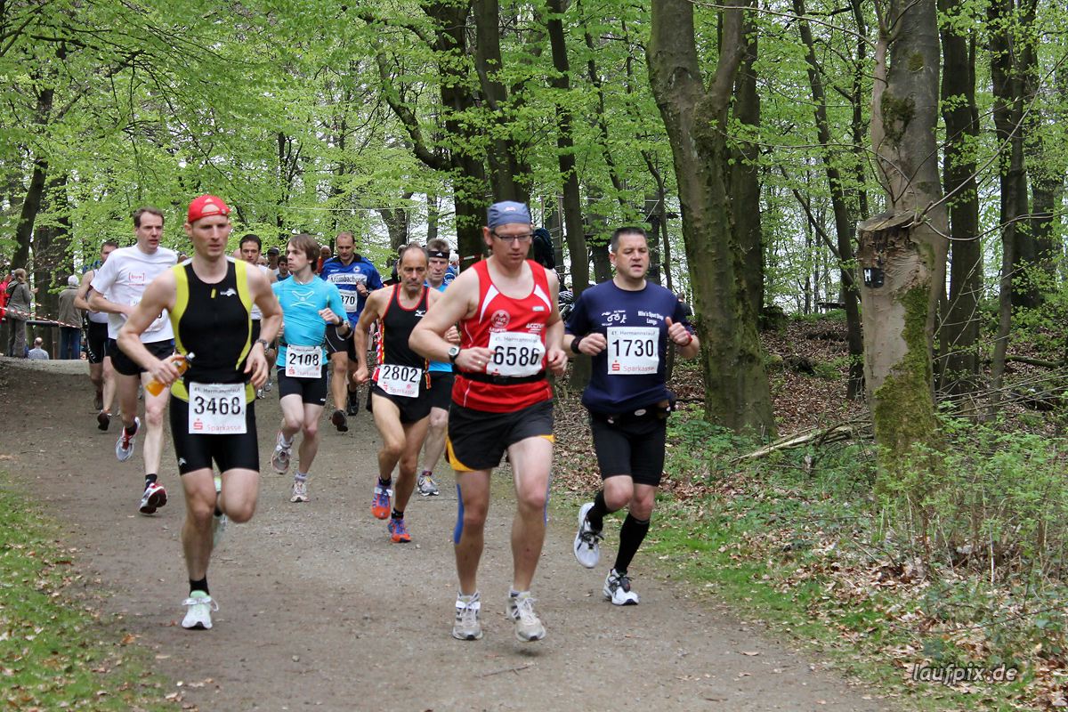 Hermannslauf - Start B C 2012 - 6