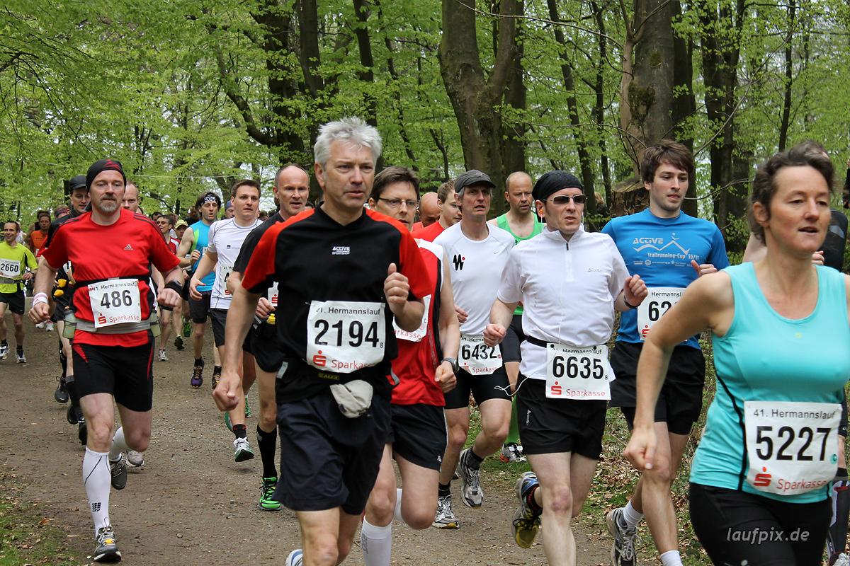 Hermannslauf - Start B C 2012 - 25