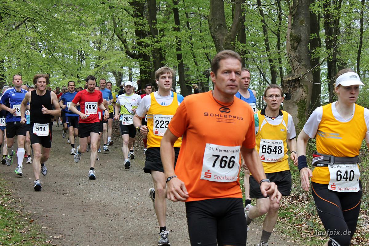 Hermannslauf - Start B C 2012 - 38