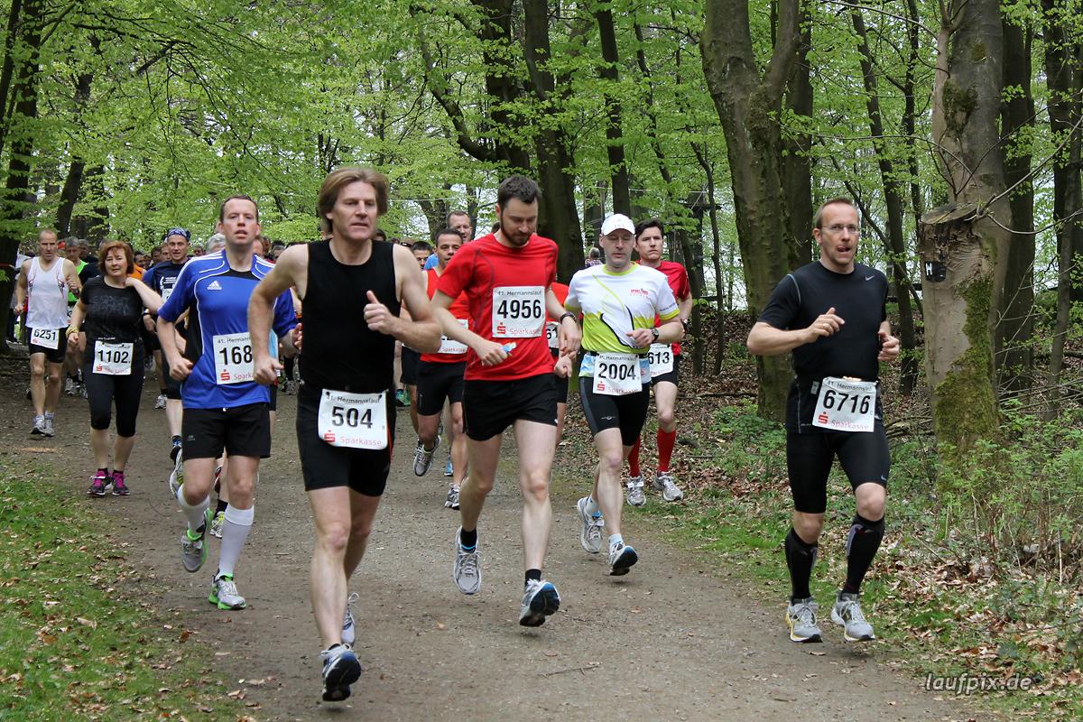 Hermannslauf - Start B C 2012 - 42