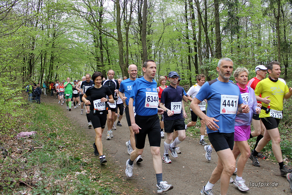 Hermannslauf - Start B C 2012 - 749