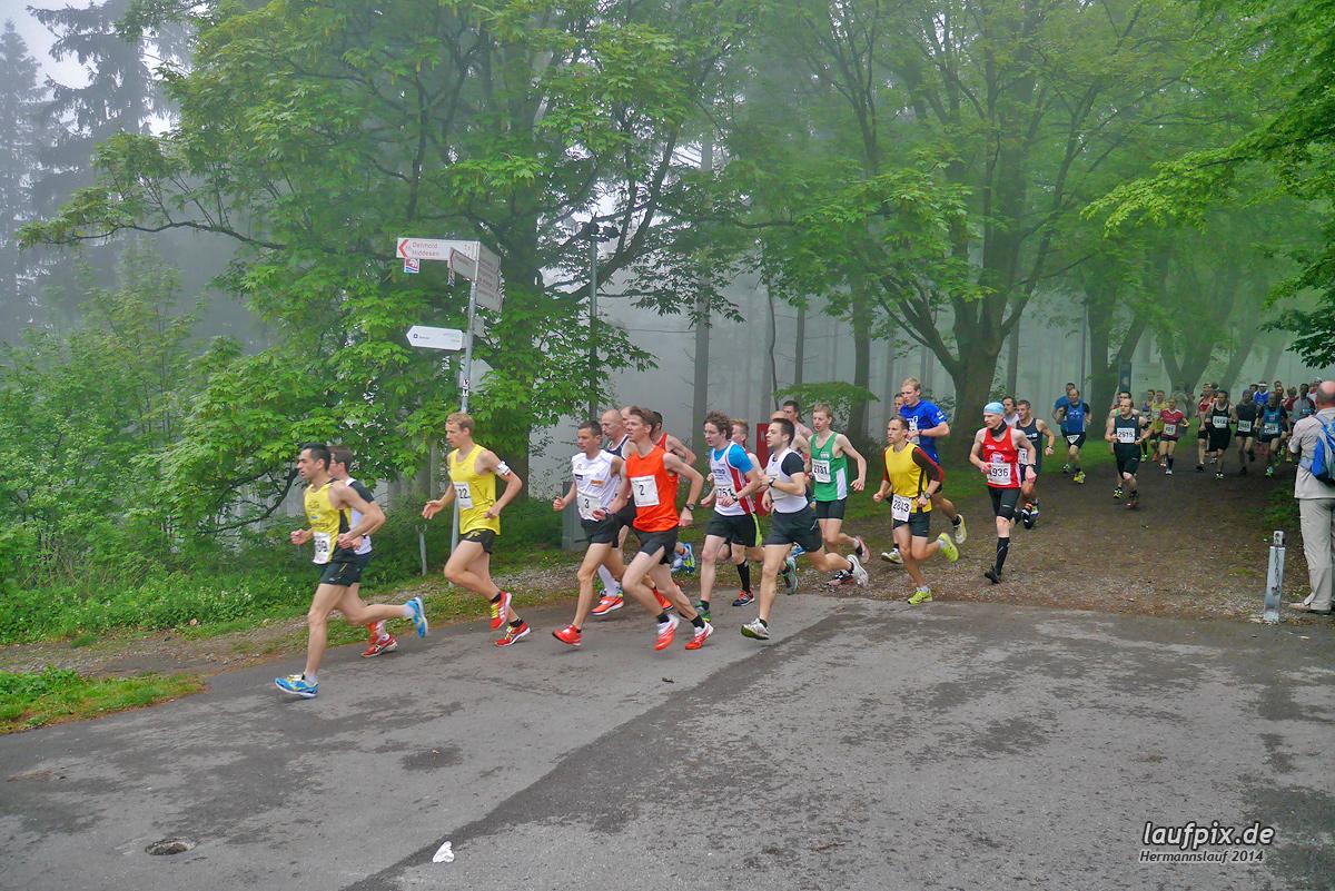 Hermannslauf - Start 2014 Foto (34)