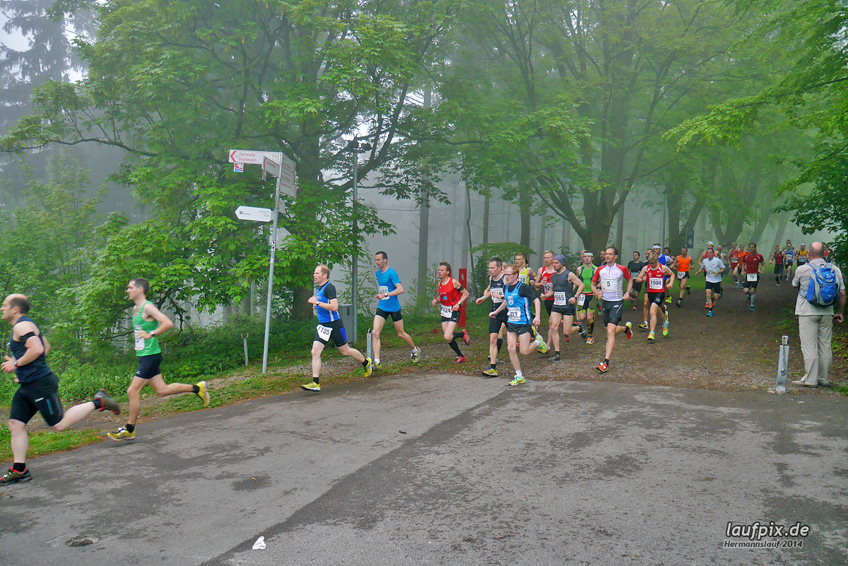 Hermannslauf - Start 2014 Foto (43)