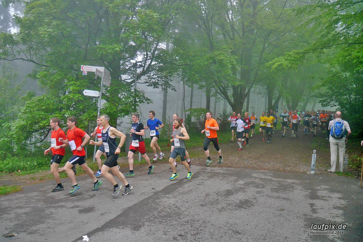 Hermannslauf - Start 2014 Foto (50)