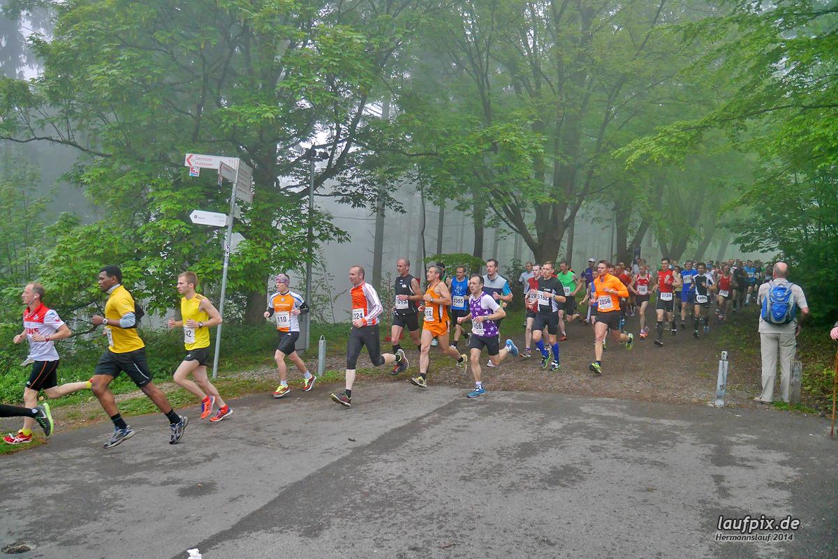 Hermannslauf - Start 2014 Foto (51)