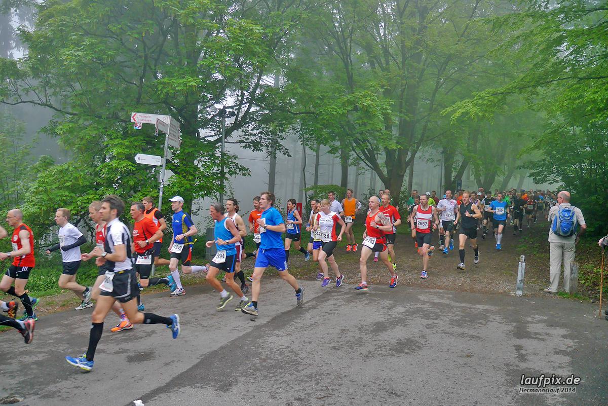 Hermannslauf - Start 2014 Foto (54)