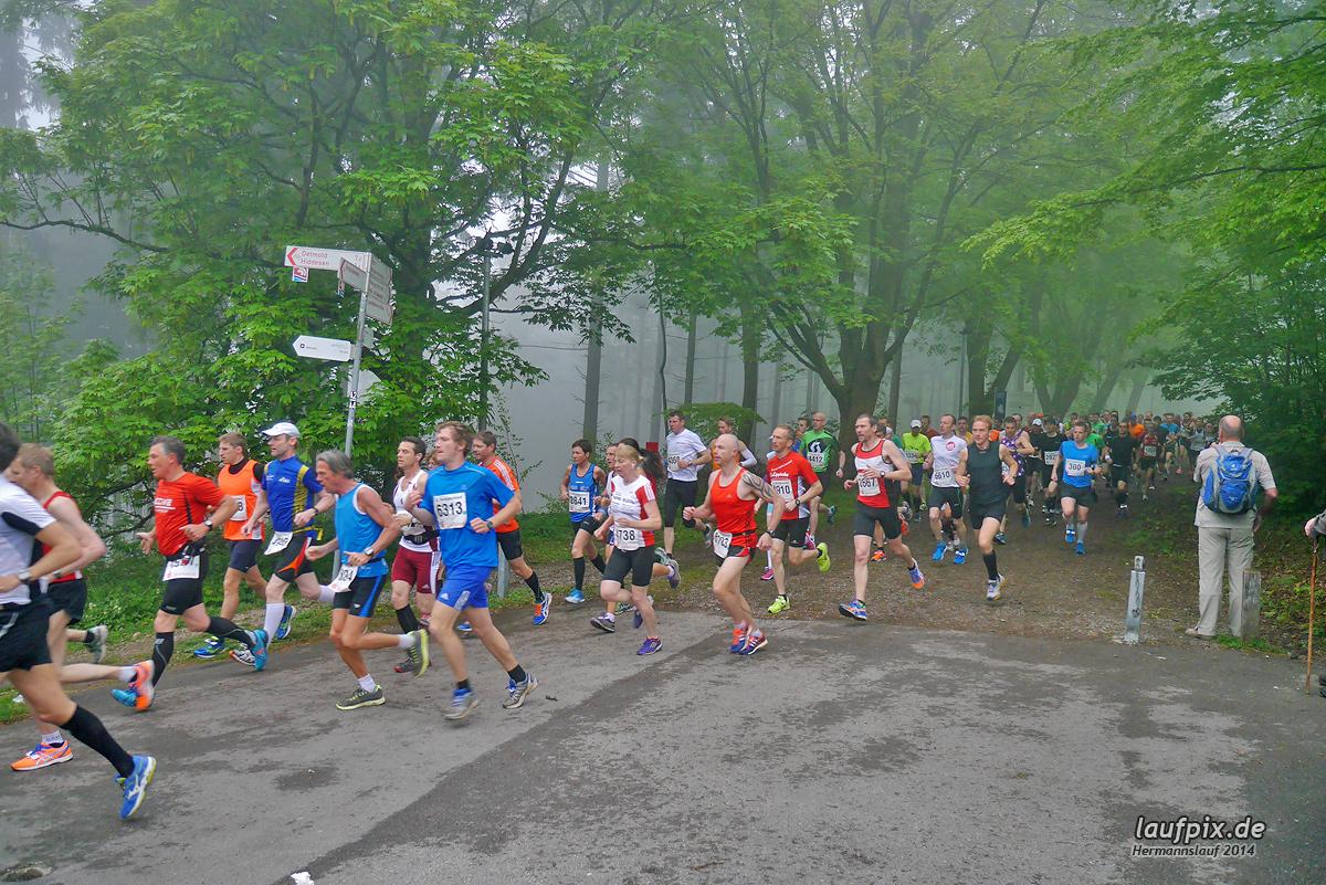 Hermannslauf - Start 2014 Foto (55)