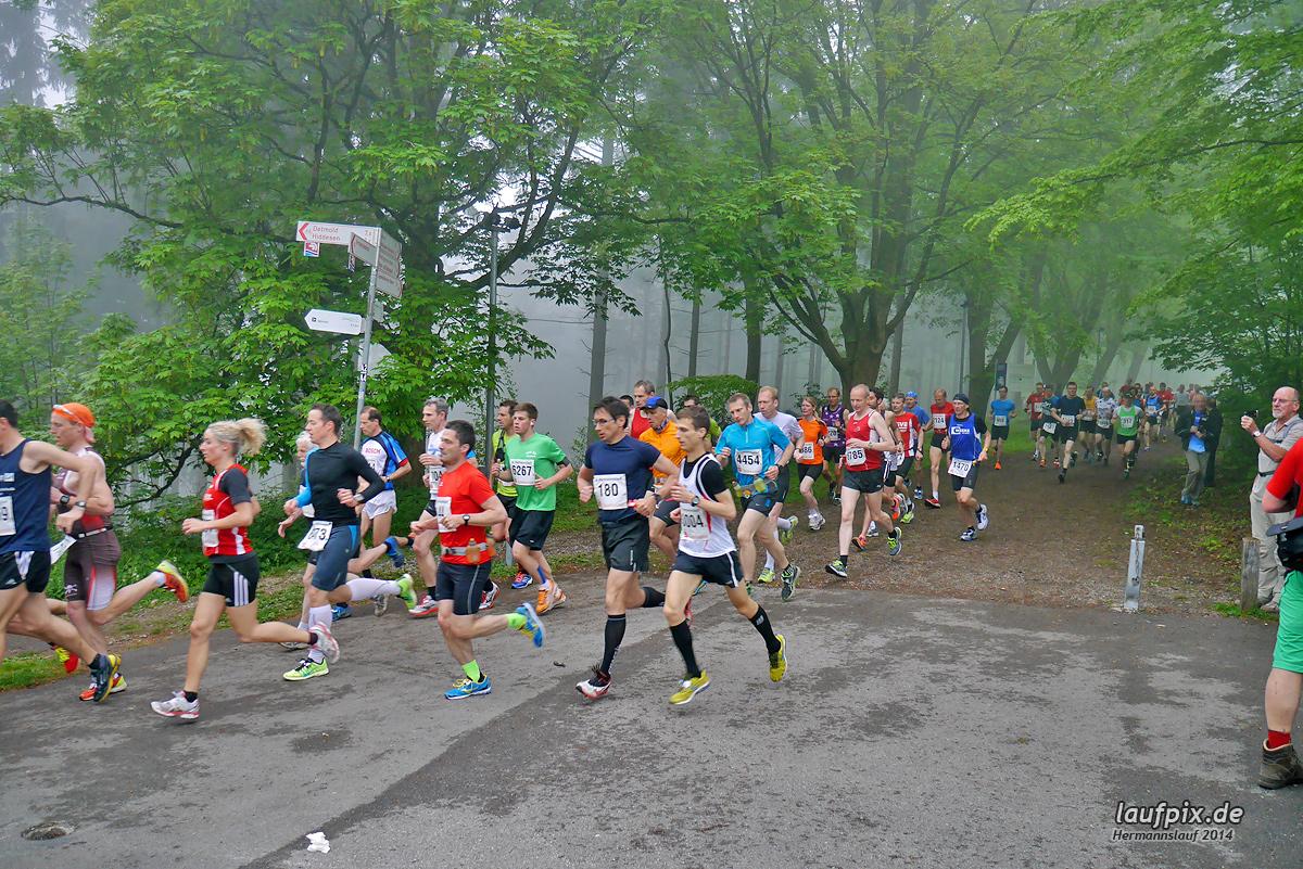Hermannslauf - Start 2014 Foto (62)
