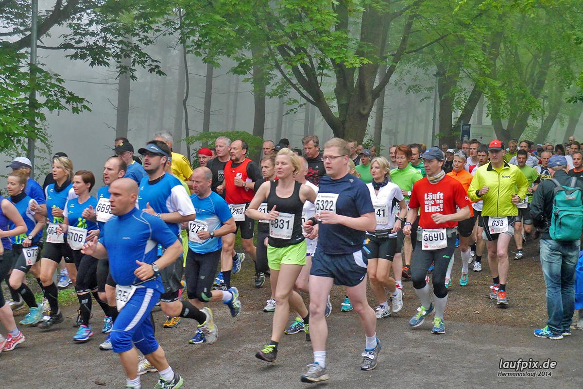 Hermannslauf - Start 2014 Foto (259)
