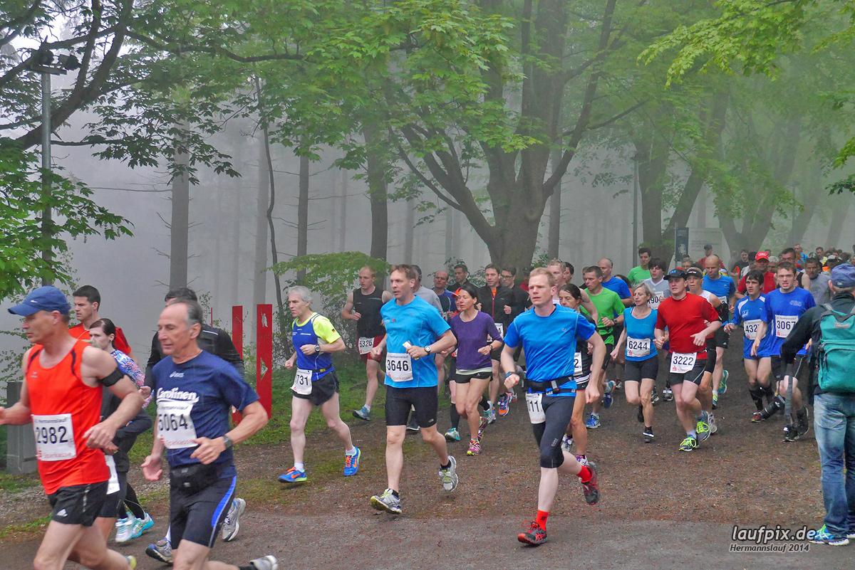 Hermannslauf - Start 2014 - 350