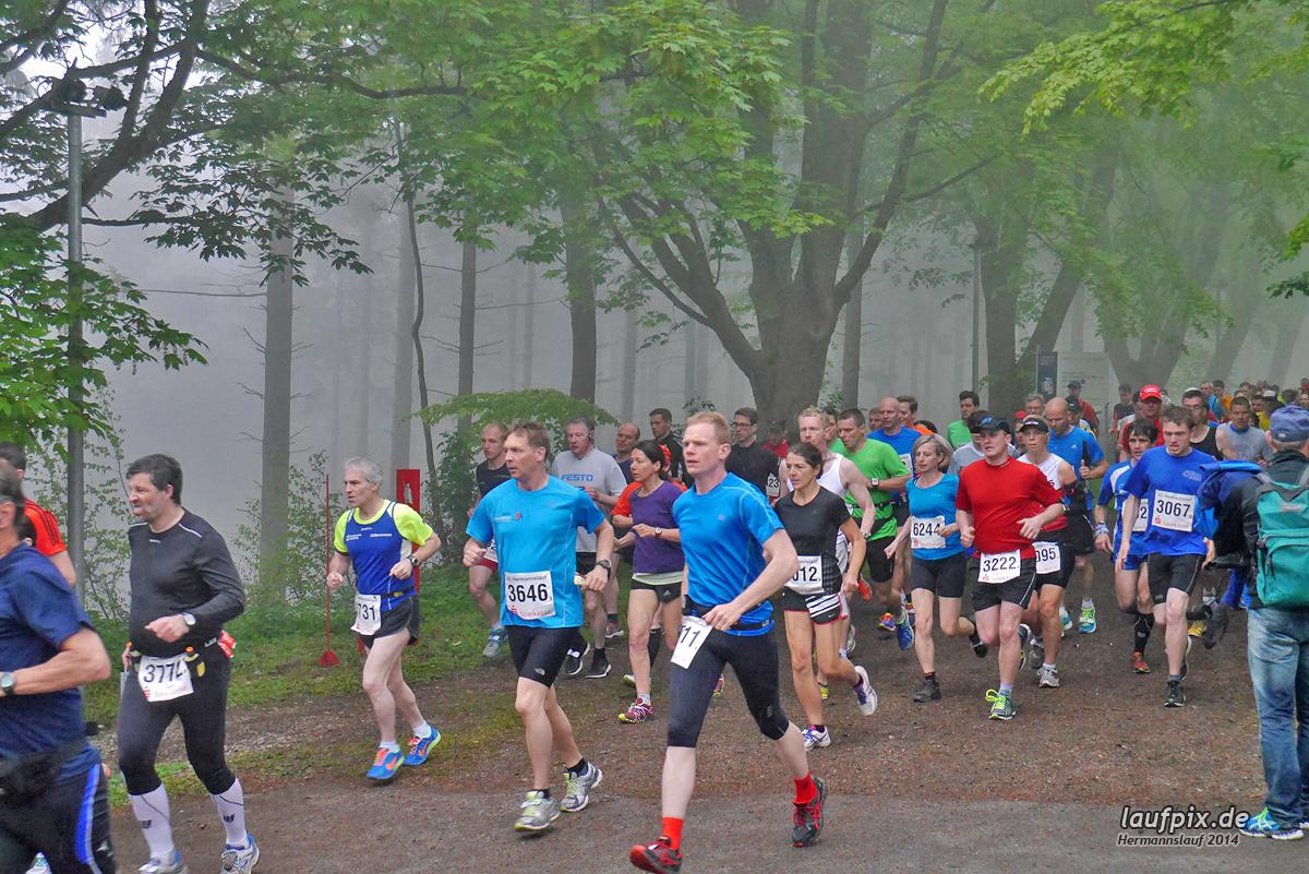 Hermannslauf - Start 2014
