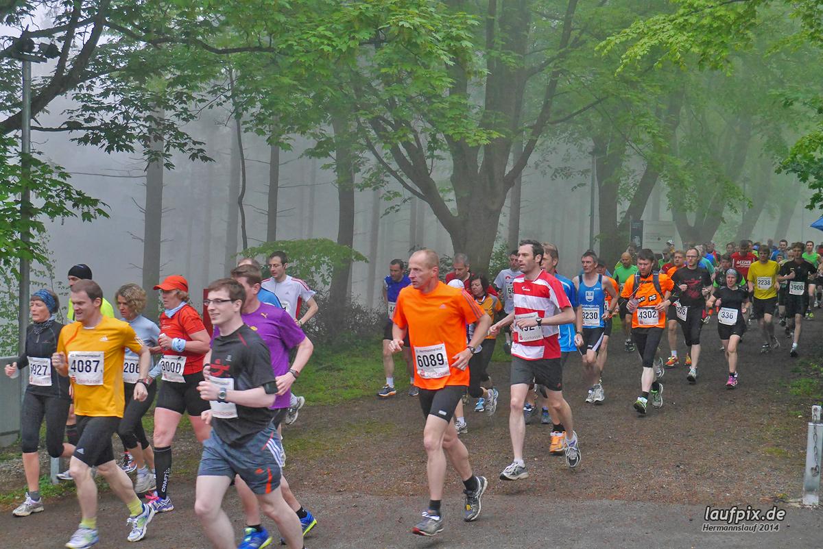 Hermannslauf - Start 2014 Foto (374)