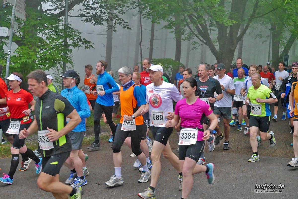 Hermannslauf - Start 2014 Foto (420)