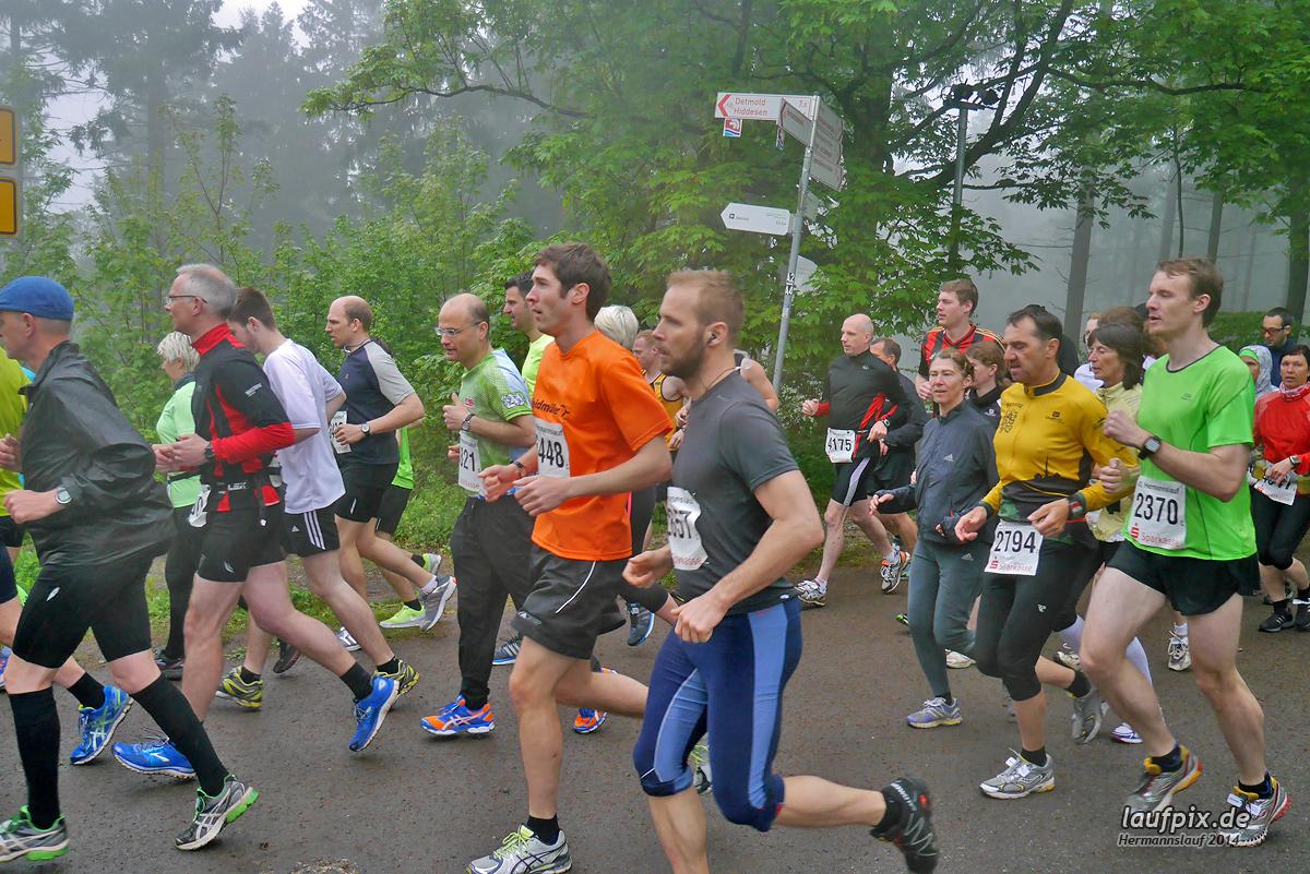 Hermannslauf - Start 2014 Foto (1208)