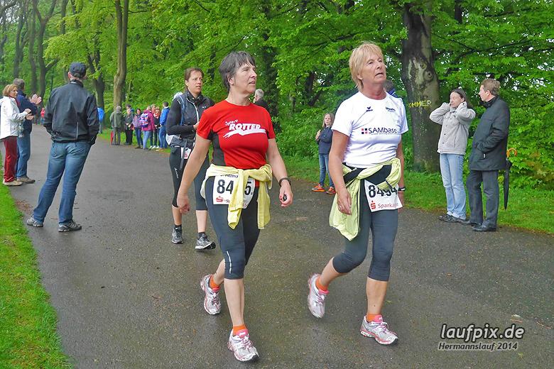 Hermannslauf - Ziel 2014 - 20